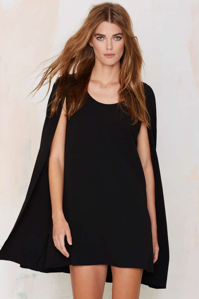 You're going to want this black dress in your LBD collection.: