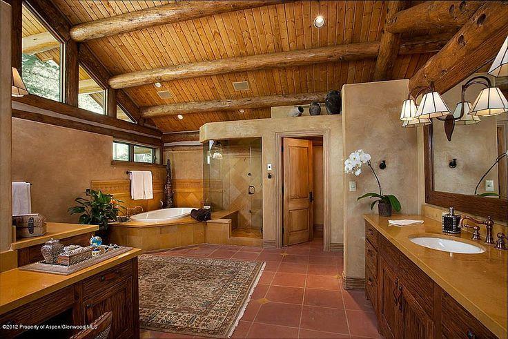 Best 20 Rustic Master Bathroom Ideas On Pinterest