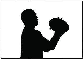 Photo Print of Boční profil Rugby Hooker, jehož cílem je Házení Ball na autovém seřazení k18525145 - plakáty, tisk na plátně, na stěnu, vytištěné reprodukce, nástěnné malby - k18525145.eps