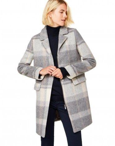 Manteau benetton gris