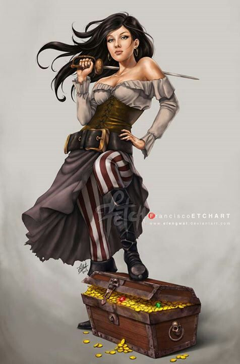 A pirates - need to make this skirt for Lee Dirtyfoot!