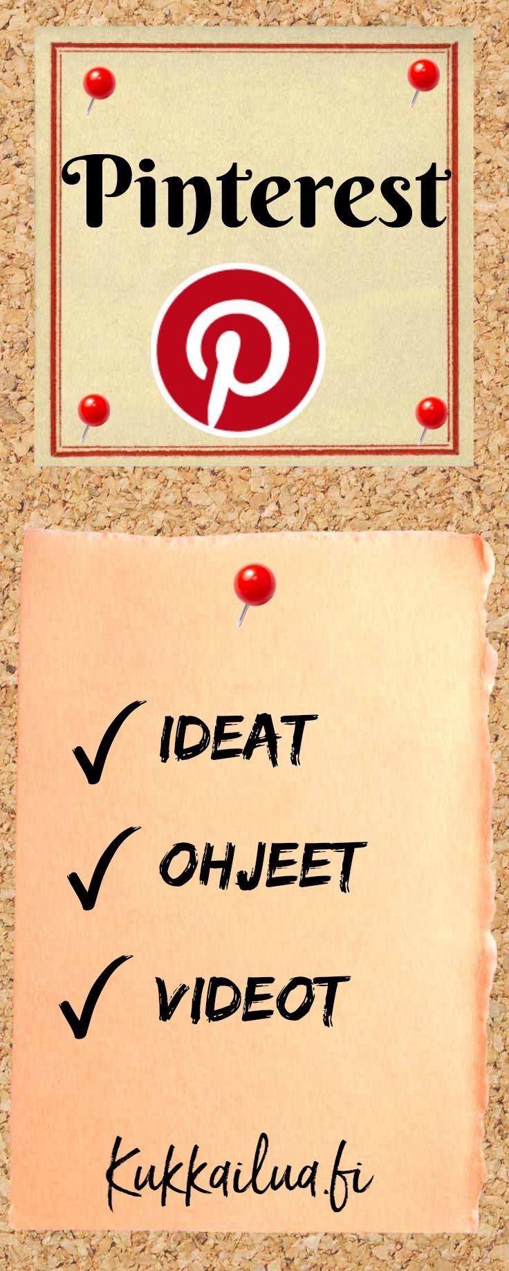 Pinterest ohjeet-Miten otat käyttöön näyteikkunan ja ideoita tauluille – #kukkailua #pinterestohjeet http://kukkailua.fi/pinterest-ohjeet-miten-otat-nayteikkunan-kayttoon-ja-ideoita-tauluille/