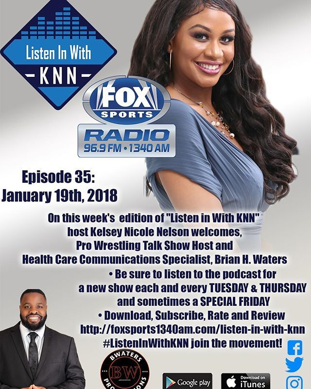 Making media appearances! Check out #ListenInWithKNN where I was honored to be a guest. On this episode we discussed @wrestlingwrealm @wsuwrestling and of course the drama of the @NBA. . . . #sports #work #media #medialife #facts #opinions #debate #sportstalk #journalism #brianhwaters #Lakers #Clippers #Rockets #Warriors #wrestlingwrealm