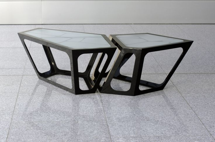 Simplexio Primo - coffee table 2 cells black