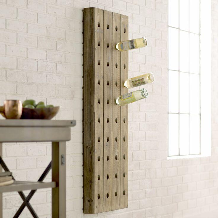 Trent Austin Design Wolpert 40 Bottle Wall Mounted Wine Rack & Reviews | Wayfair