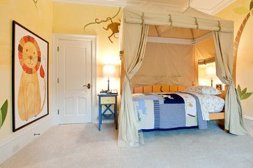 Love the supersized lion portrait - Toddlers Room Design, Pictures, Remodel, Decor and Ideas - page 9