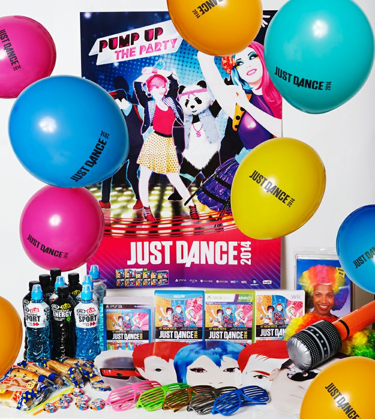 #JustDance2014 Party Pack