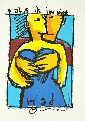 Herman Brood schilderijen en zeefdrukken te koop en te huur