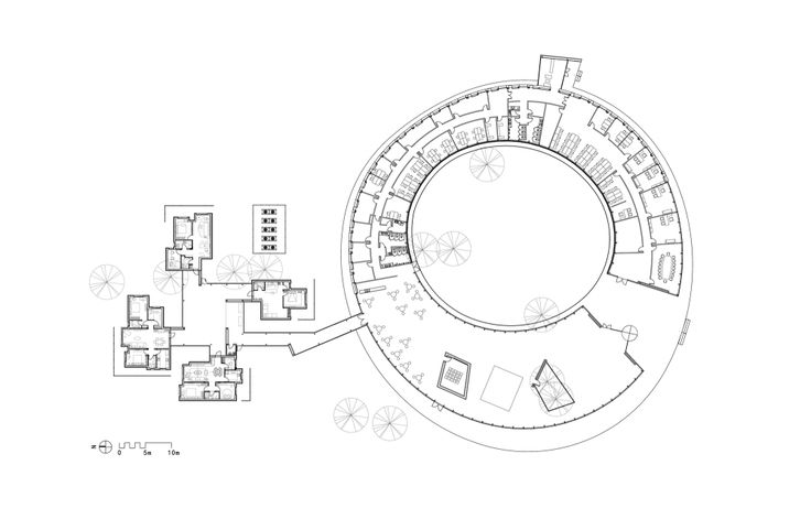 60 best circular images on pinterest - Circular house plans shapes from nature ...