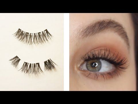 a96718467f2 58) How To Apply Magnetic Lashes HUGE TRICK! - YouTube | Hair ...