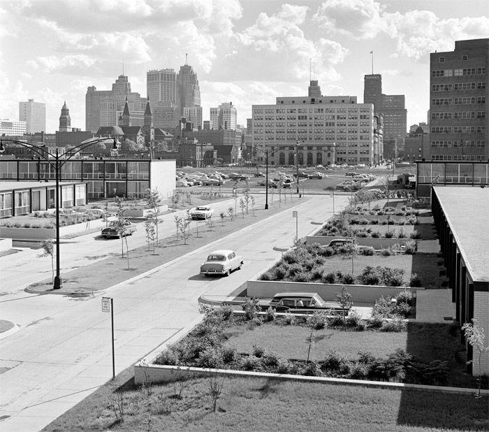 Pavilion Apartments, Detroit, - Mies van der Rohe