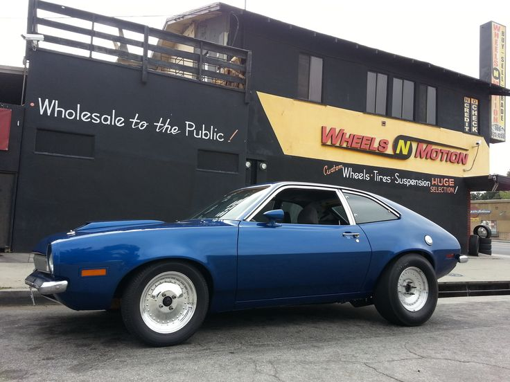 1972 Ford Pinto on Centerline wheels