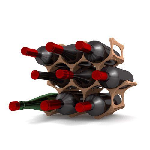 www.gustavino.co.uk  Modular Wine Rack print on demand! So proud of my husband ;)