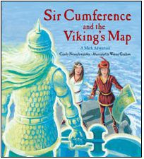 New book by Cindy Neuschwander in the Sir Cumference series! Topic: Coordinate Grids! (a 5th grade Common Core Standard)