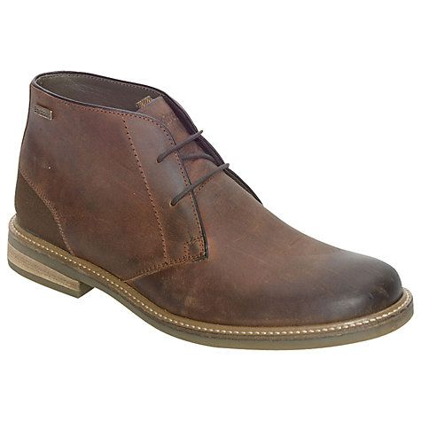 Barbour Redhead Leather Chukka Boots, Dark Tan #ad #men #menstyle #mensfashion #style #menswear #shopping #shoes #menshoes