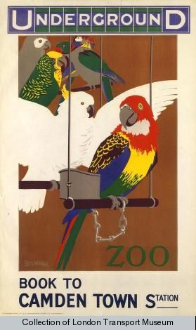 by Sidney Thomas Charles Weeks, 1913 - Poster and Artwork Collection, London Transport Museum