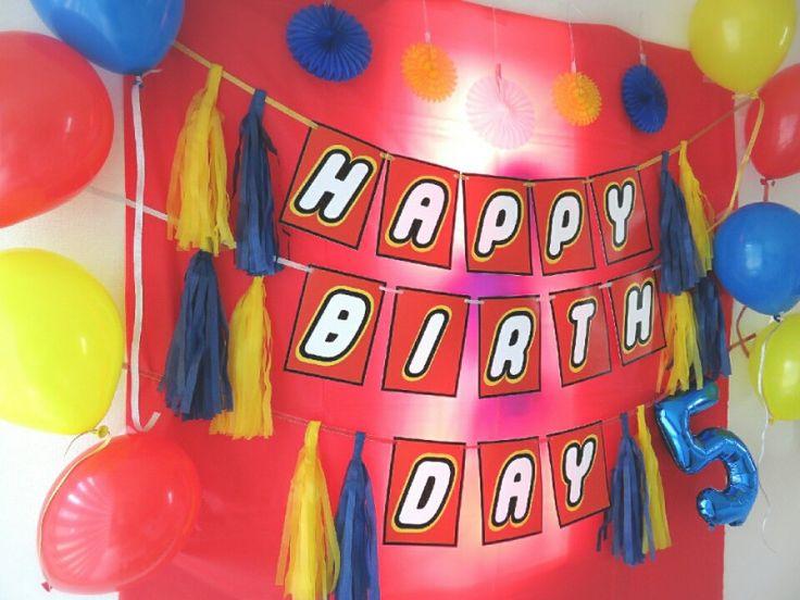 5歳のお誕生日☆レゴパーティー!!!|セレブレーション・デコレーター田中春菜のパーティーシーン革命☆