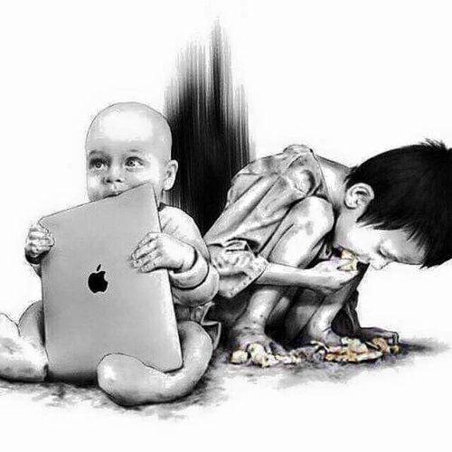Αληθινές ιστορίες Τι πραγματικά σημαίνει φτώχεια!    Μια πλούσια οικογένεια ζει -όπως είναι φυσικ...