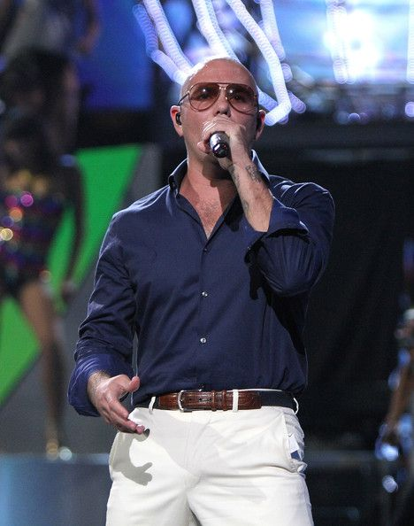Pitbull Photos - Three Lions Entertainment Presents Fashion Rocks 2014 - Show - Zimbio