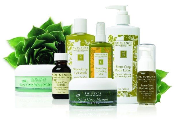 Eminence organic skin care products from Hungary