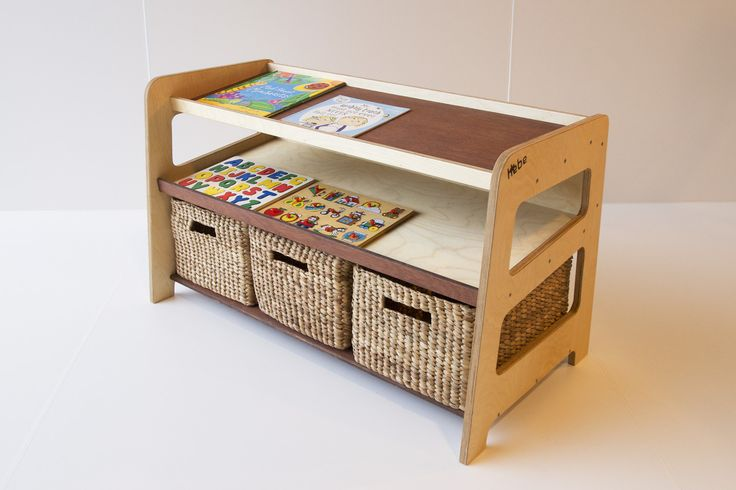Puzzle and book storage - available at www.hebe.kiwi.nz