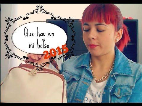 Que hay en mi bolso / Version 2015