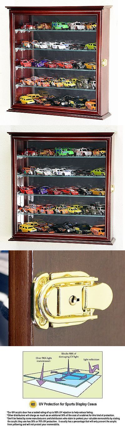 Display Cases and Stands 171135: 4 Adjustable Shelves Hot Wheels Matchbox Diecast Cars 1 64 Model Display Ca... -> BUY IT NOW ONLY: $83.09 on eBay!