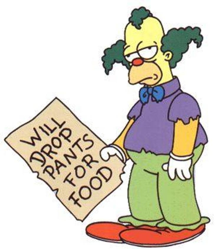 Les 17 meilleures images du tableau the simpson sur pinterest les simpson bart simpson et - Simpson le clown ...