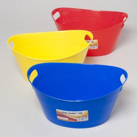 Wholesale Toy Tub With Handles (Case of 48)