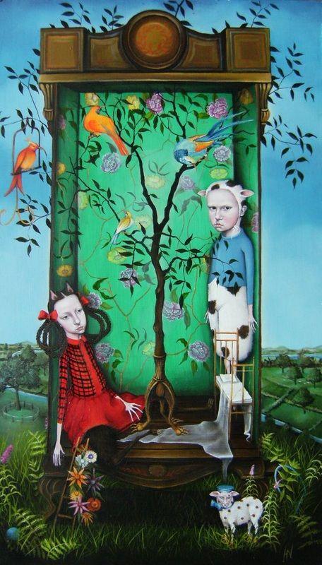 Paintings 2008 - HeatherNEVAY