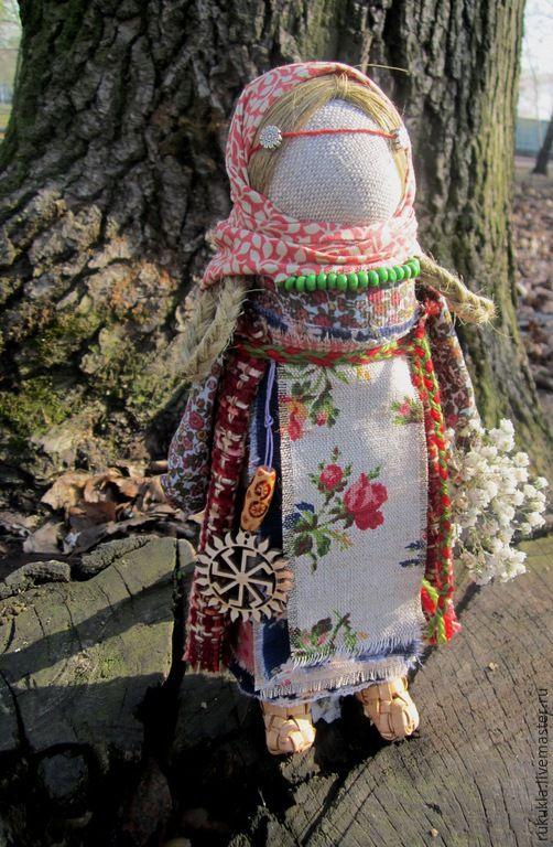 Купить Лада - разноцветный, Лада, ладинец, народная кукла, народные традиции, традиционная кукла