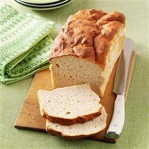 Gluten-Free Sandwich Bread Recipe -In my quest to find an edible gluten-free bread, this recipe emerged. It's moist and has no cardboard texture! —Doris Kinney, Merrimack, New Hampshire