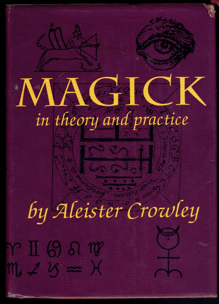 271. Magick in Theory and Practice by Aleister Crowley by UpOnHill61 on Etsy