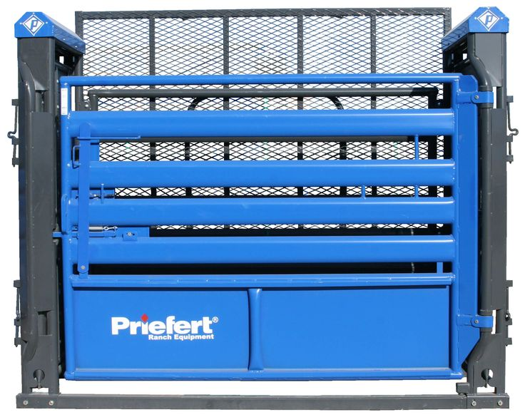 Designed with the aid of professional cowboys, this durable bucking chute was designed with safety in mind for the cowboy, the rough stock, and the arena help.