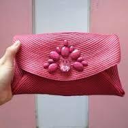 Resultado de imagen de bolsos hechos con salvamanteles para fiestas