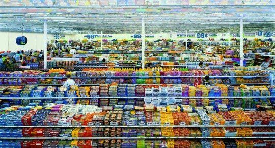 © Andreas Gursky, 99 Cent II Diptych, 2001