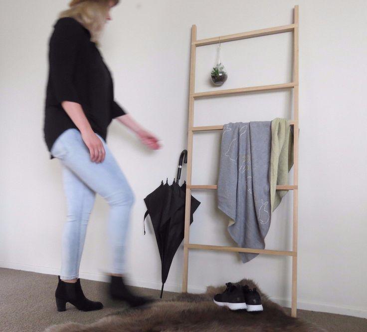 reed ladder made by fox & rabbit #reedladder #foxandrabbitnz