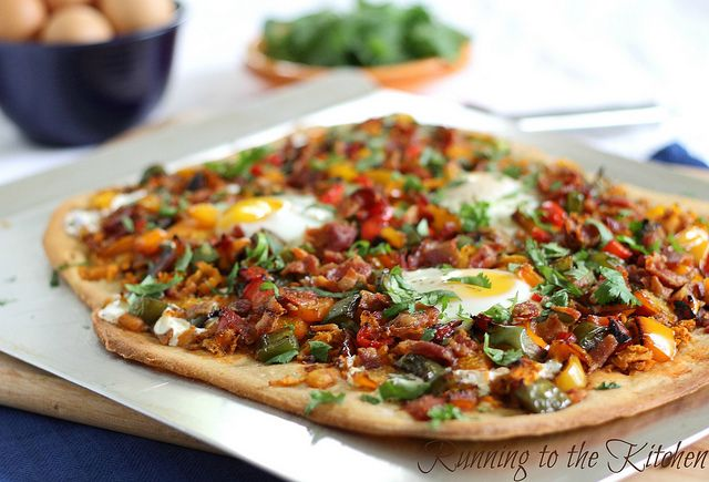 Breakfast Pizza by Runningtothekitchen, via Flickr