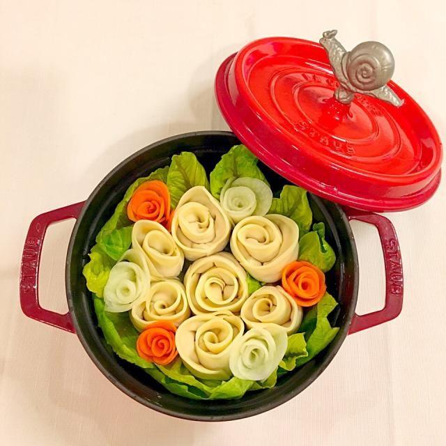 薔薇餃子鍋