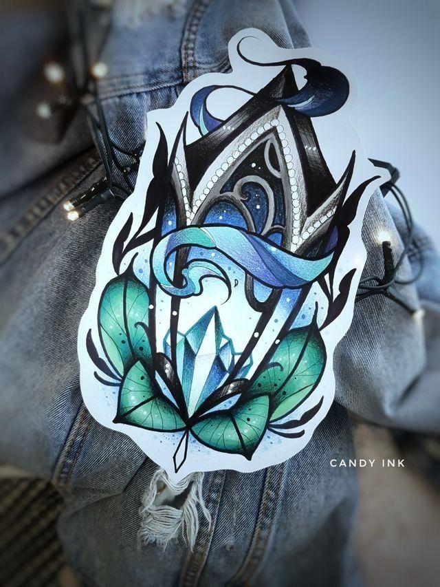 54c30560e7634 Pin by Otzi on Neo traditional tattoo | Tattoos, Tattoo drawings ...