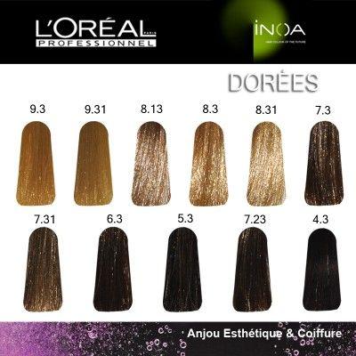 les dores inoa - Coloration Ton Sur Ton Blond