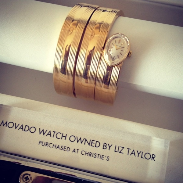 Movado watch (and look who owned it?!)