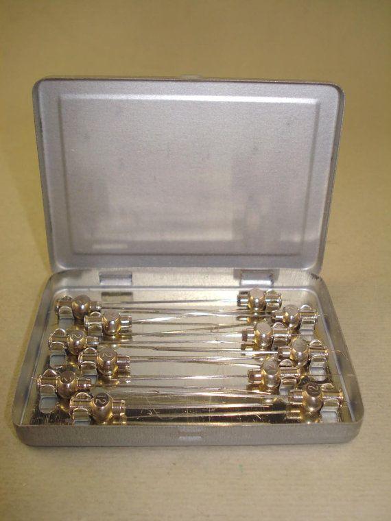 Vintage old Germany hypodermic needles by 501vintagegoodies, $8.99