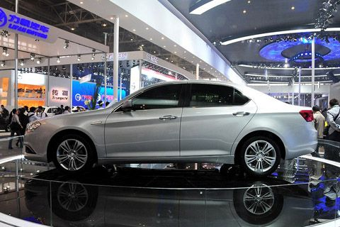 BAIC C70 concept could be available as an electric car using Boston-Power battery technology