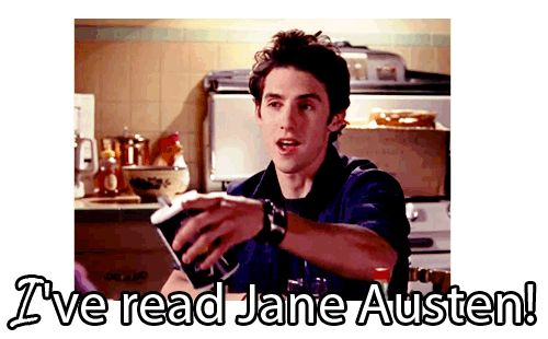 Normally I would have to pick Logan over Jess but Jane Austen come on