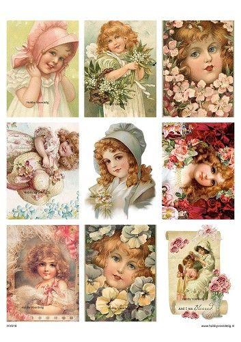 vintage knipvel 19 flowergirls