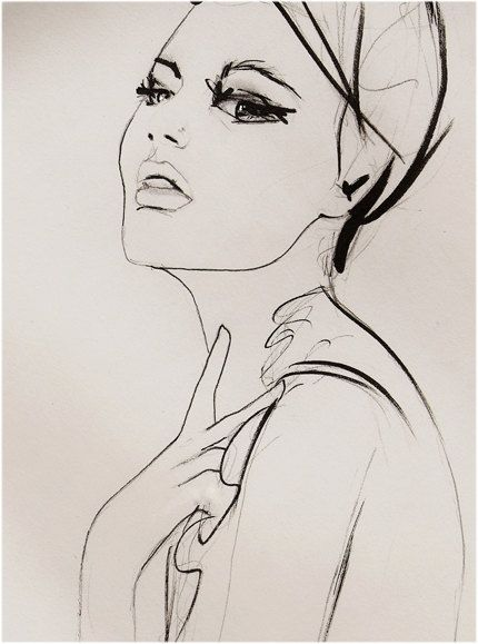 Substitute | Leigh Viner #fashion #illustration