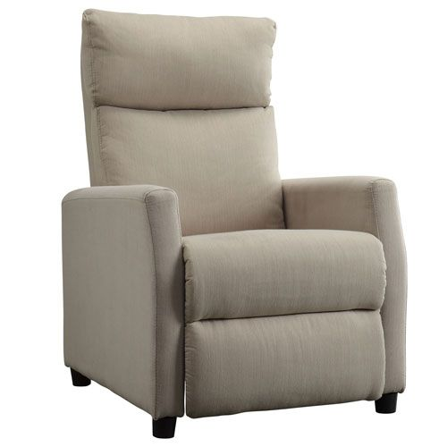 West Smoke Park Contemporary Recliner HomeHills Recliners Chairs U0026 Recliners  Living Room F