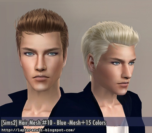 Sims 2 Hairstyles: 90 Best Images About TS2 Hair - Male On Pinterest