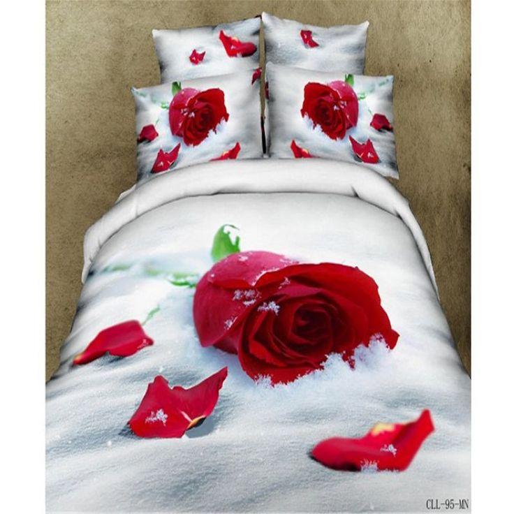 2016 Newest 4Pcs 3D Bedding sets Cartoon Bedding-set Bed Set King Size Sheets Duvet Cover Quilt Pillow No Comforter
